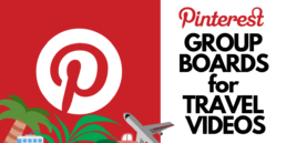 Pinterest GROUP BOARD FOR TRAVEL VIDEOS